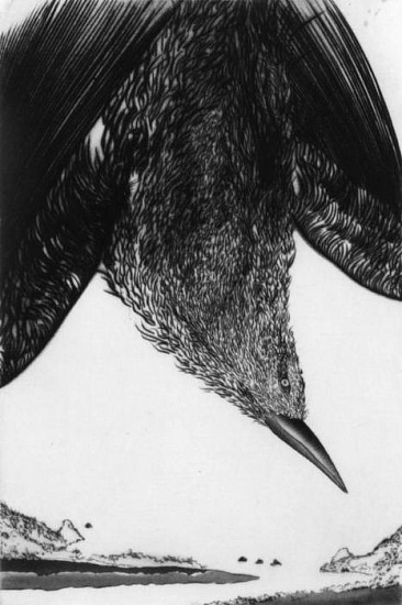 Frank Boyden, Gifts of the Sky 6 aquatint/drypoint/spitbite/mezzotint