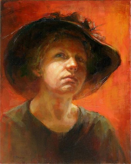 Victoria Brace, Old Hat 2008, oil on canvas