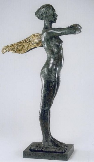 George Carlson, Wings of Light 2004, bronze