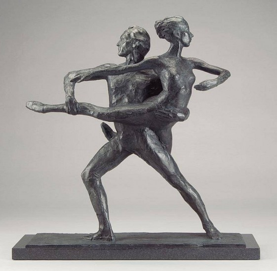 George Carlson, Homage to Balanchine 2006, bronze