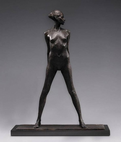 George Carlson, Of One's-Self I Sing 2008, bronze
