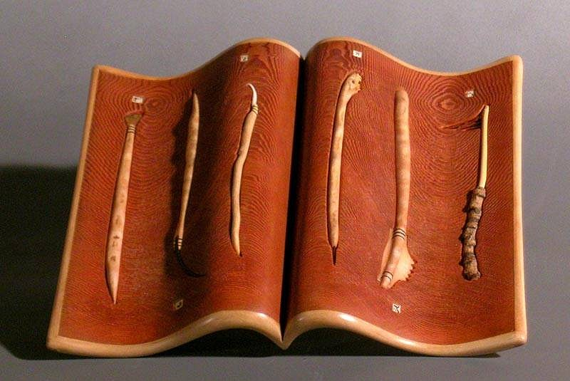 Morse Clary, Tool Book 2006, wood