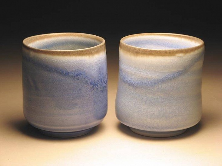 Dong Wan Kim, Transluscent Pair of Cups #2 2007, porcelain