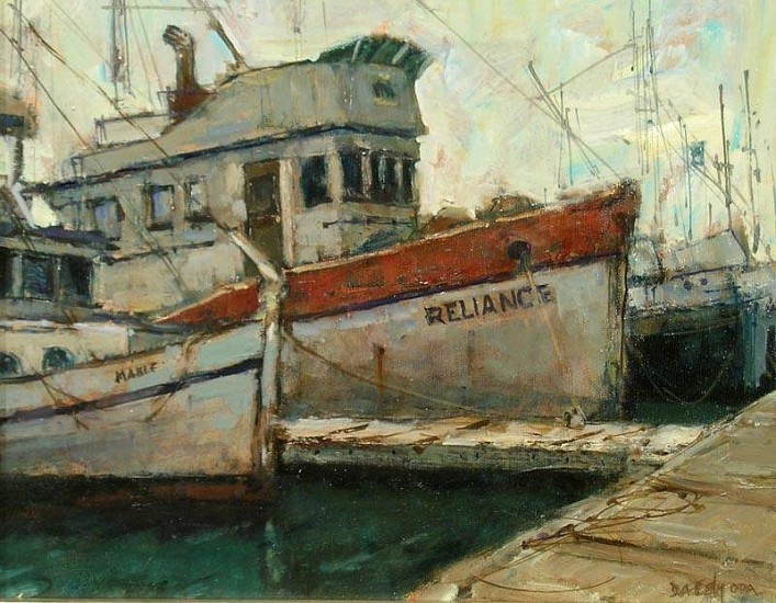 Don Ealy, Reliance oil on masonite