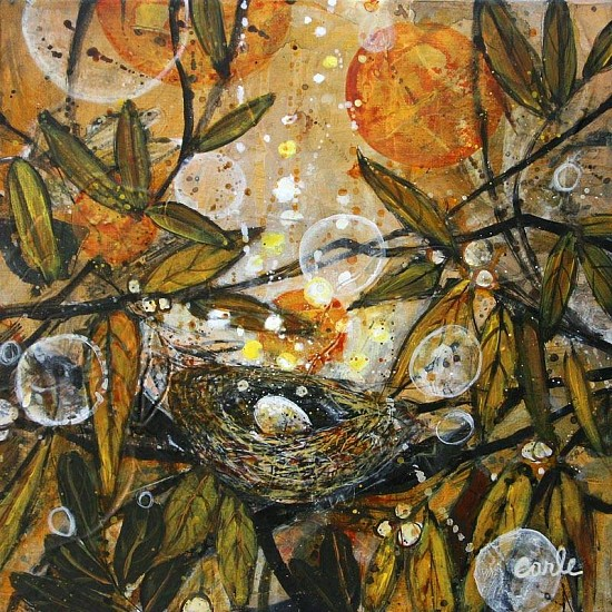 Catherine Earle, Nest 2 2012, acrylic on canvas
