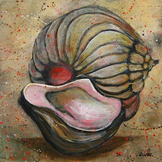Catherine Earle, Seashell 2013, acrylic on canvas