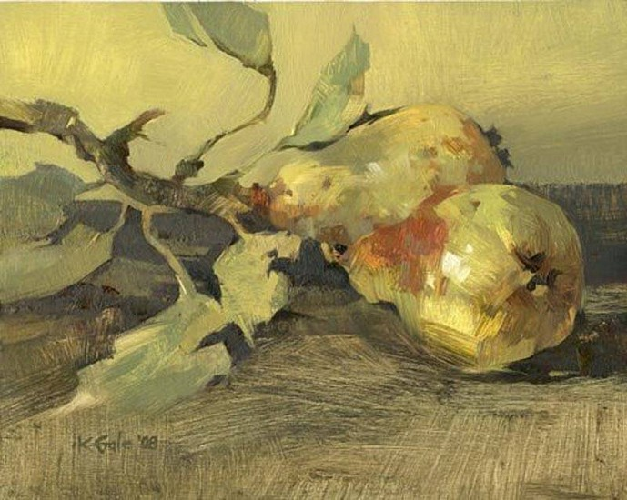Kathy Gale, Just Picked 2008, oil on board