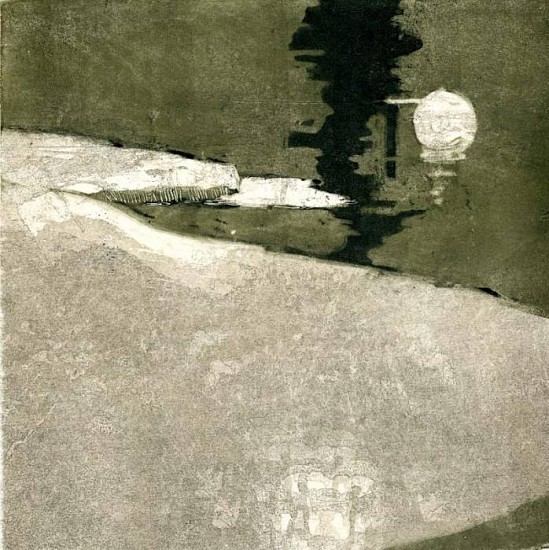 Catherine Gill, Like a Dream 2 2007, monoprint and chine colle