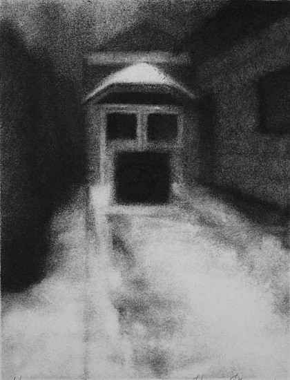 Elaine Green, House #19 2006, charcoal