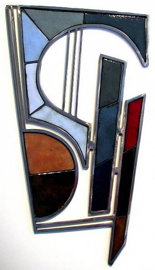 Michael Horswill, Aria 2011, steel and enamel