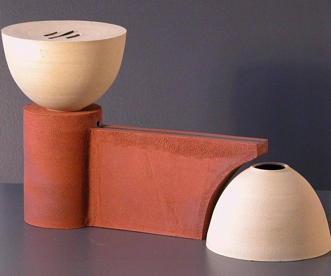 Chris Kelsey, Duct Series: Interpret 2007, stoneware