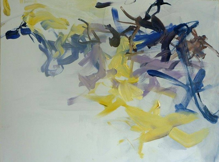 Melissa Lang, Shattering 2011, oil on panel