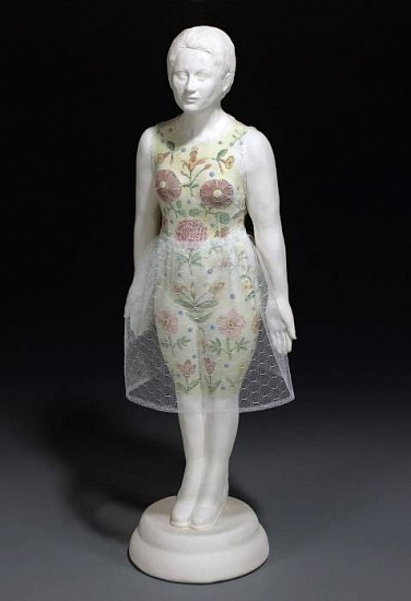 Marilyn Lysohir, Rose Ann 2009, clay and cloth