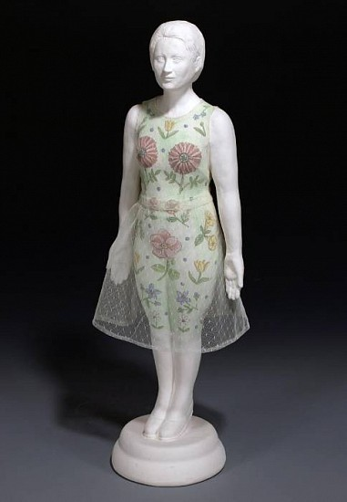 Marilyn Lysohir, Cynthia Ann 2009, clay and cloth