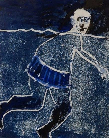 Mel McCuddin, Deep Water 2011, monotype
