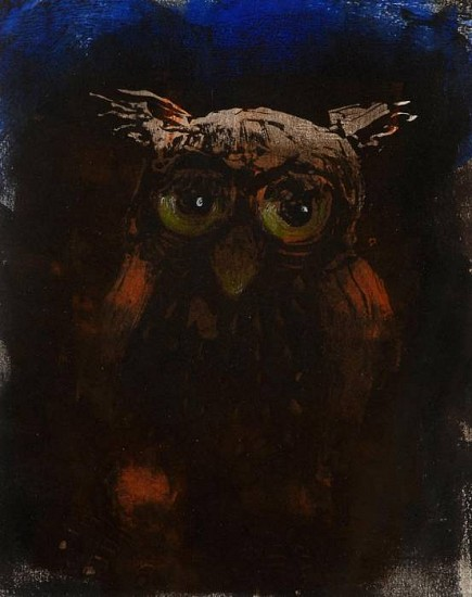 Mel McCuddin, Midnight 2011, monotype