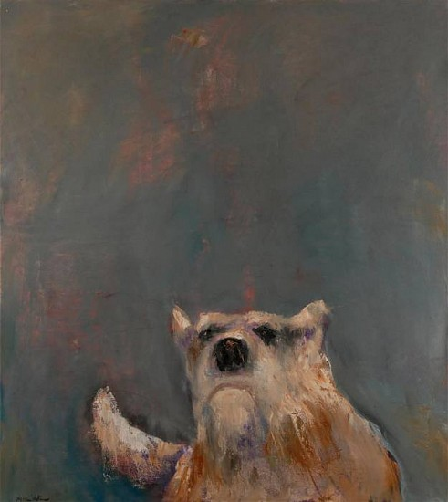 Mel McCuddin, Old Dog 2012, oil on canvas