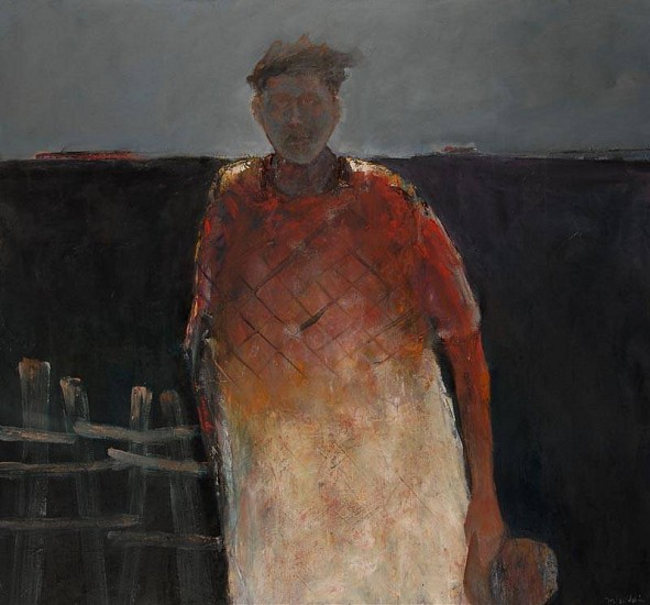 Mel McCuddin, Black Dirt Farmer 2012, oil on canvas