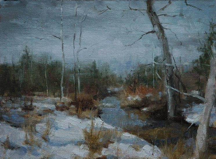Kyle Paliotto, Early Freeze 2007, oil on linen