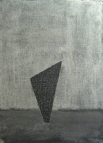 Troy Passey, There has to be an easier way 2008, acrylic and graphite on canvas