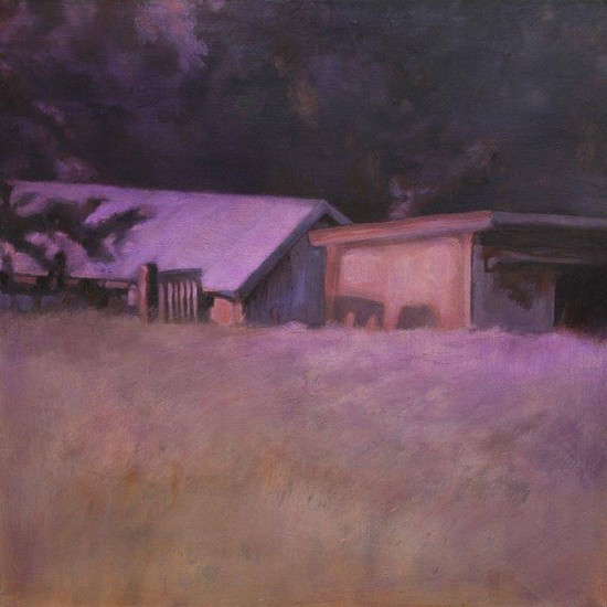 Claudia Pettis, Sheep Shed 2010, oil on linen