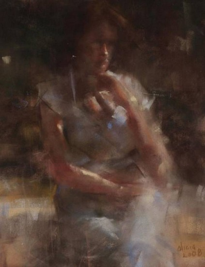 Alicia Sotherland, Sitting Alone 2008, pastel