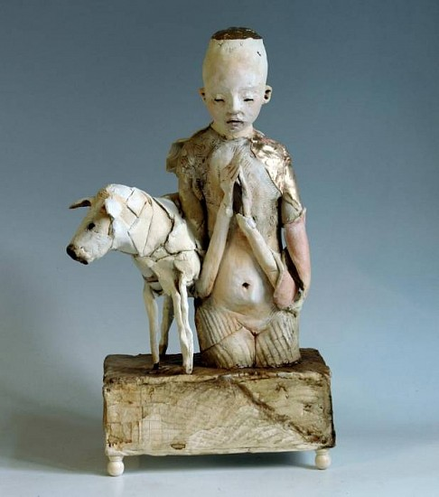 Cary Weigand, Praying Shephard 2011, porcelain