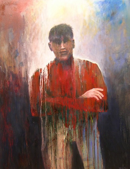 Mel McCuddin, The Heavy Weight 2005, oil on canvas