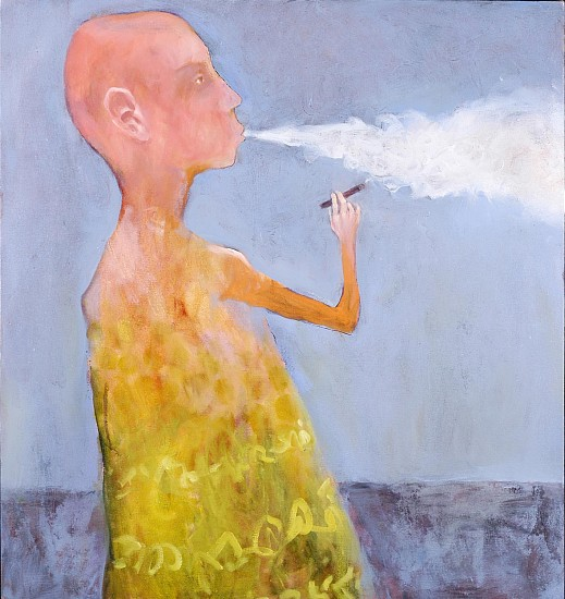 Mel McCuddin, Blowing Smoke 2005, oil on canvas