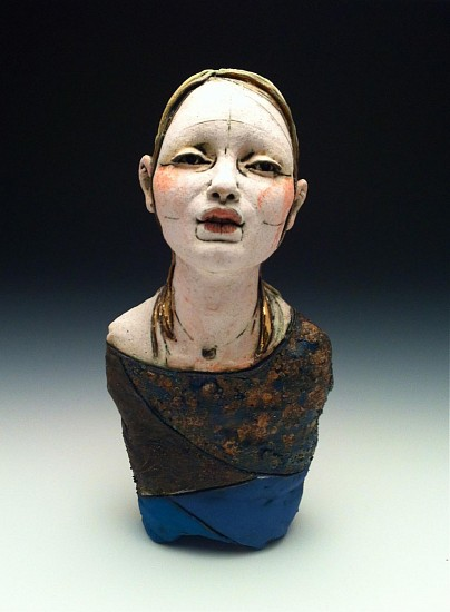 Kelly Garrett Rathbone, Circus Girl #2 2013, ceramic