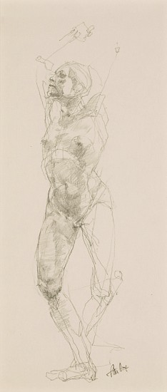Peter Cox, Untitled Study II 2009, pencil on paper