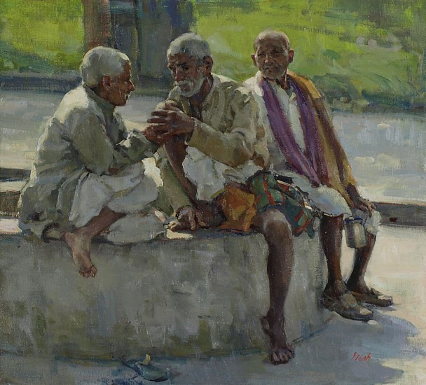 Del Gish, Old Men of Mokama oil