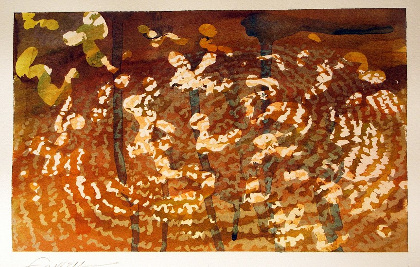 Mary Farrell, Derma Landscape 2 2014, watercolor