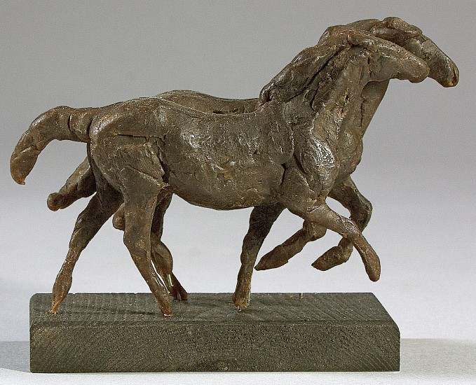 George Carlson, Mare and Foal 2004, bronze