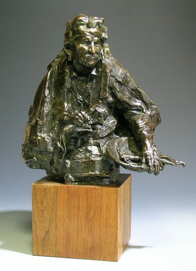 George Carlson, The Devil Chaser 1980, bronze