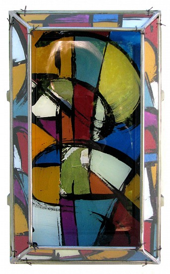 Michael Horswill, Medley 2014, steel, wood, glass, encaustic
