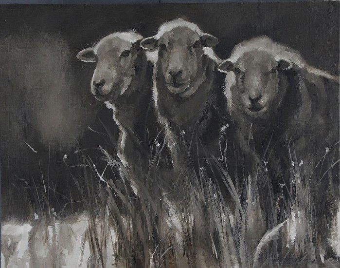 Claudia Pettis, Sheep in the Night Garden 2018