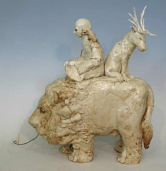 Cary Weigand, The Bone Eater 2015, porcelain