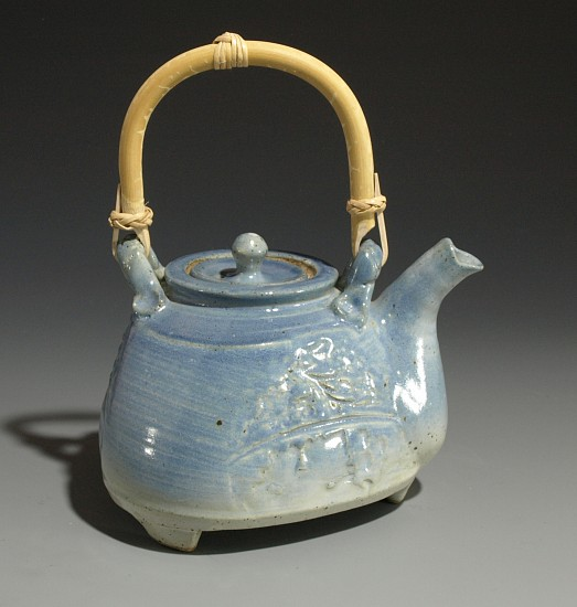 Terry Gieber, Three Sided Teapot 2007, stoneware