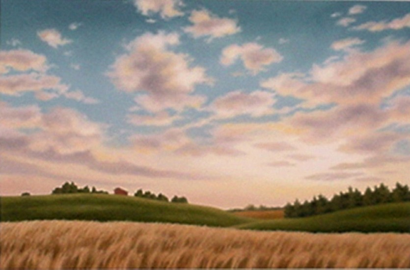 Doug Martindale, Big Sky Country chalk pastel on archival paper