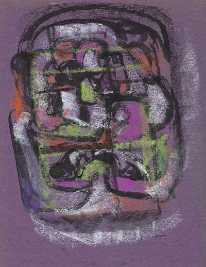 Ernest Lothar, Drawing 68 pastel on construction paper