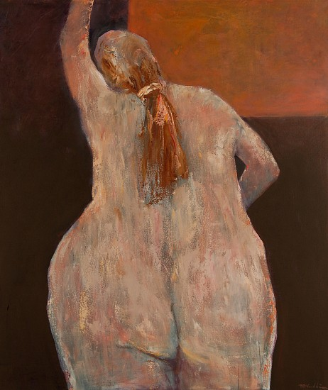Mel McCuddin, Innate Grace 2012, oil on canvas